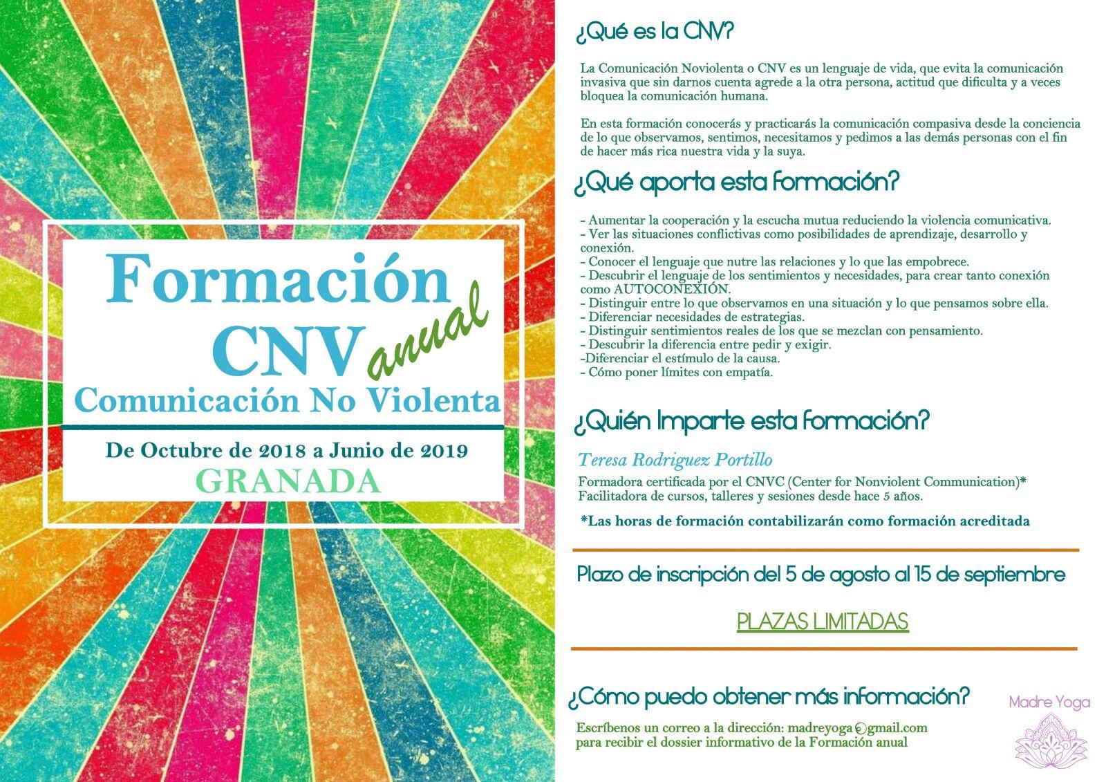 FORMACIÓN ANUAL CNV GRANADA
